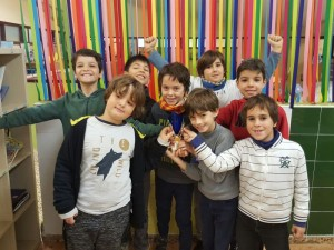grup alumnes escacs primària